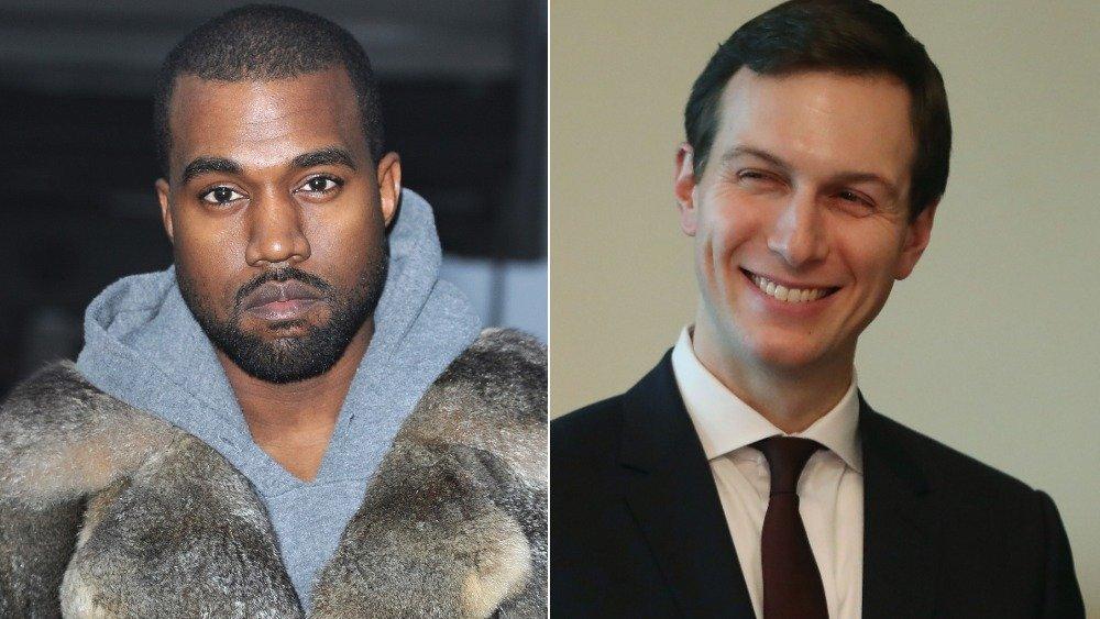 Kanye and Jared Kushner