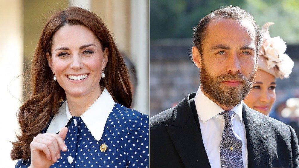 Kate & James Middleton