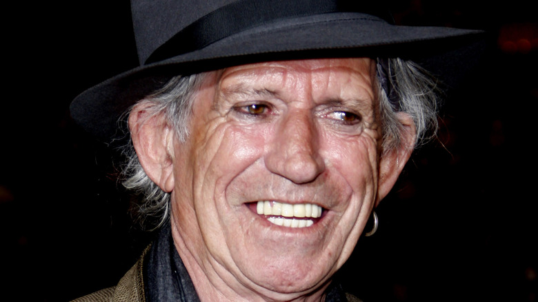 Keith Richards, red carpet