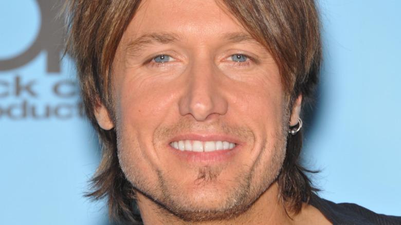 Keith Urban smile