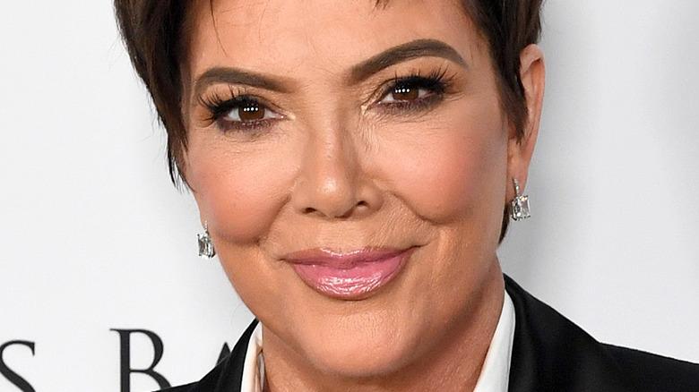 Kris Jenner at a 2020 gala