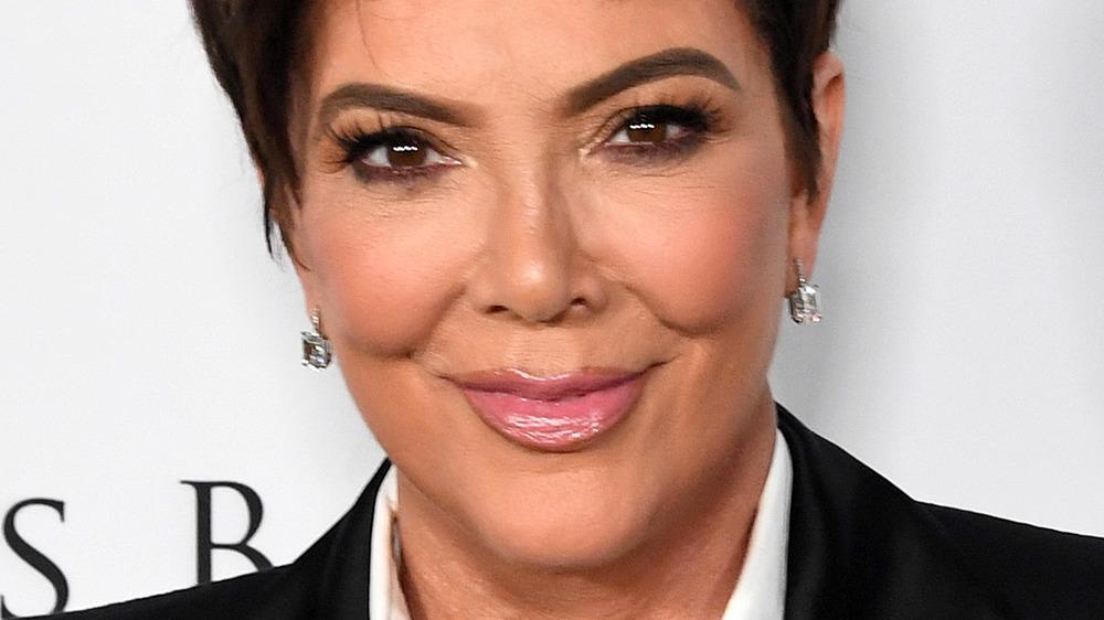 Kris Jenner on red carpet
