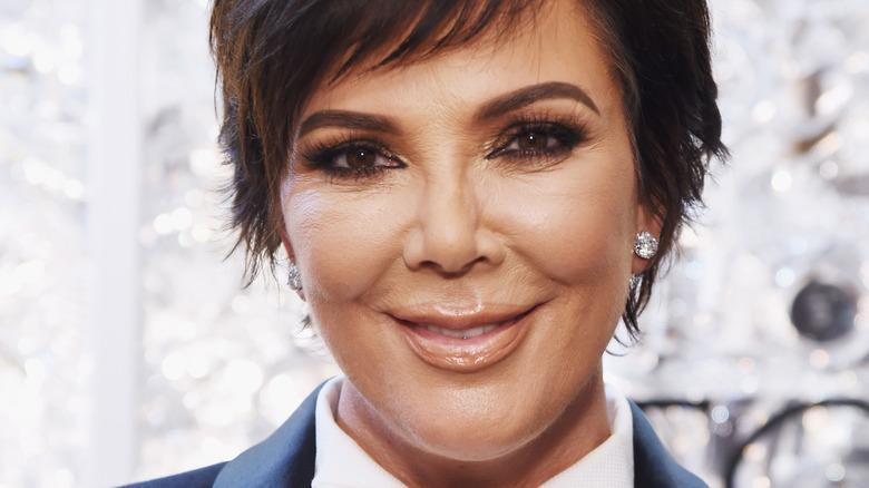 Kris Jenner, posing