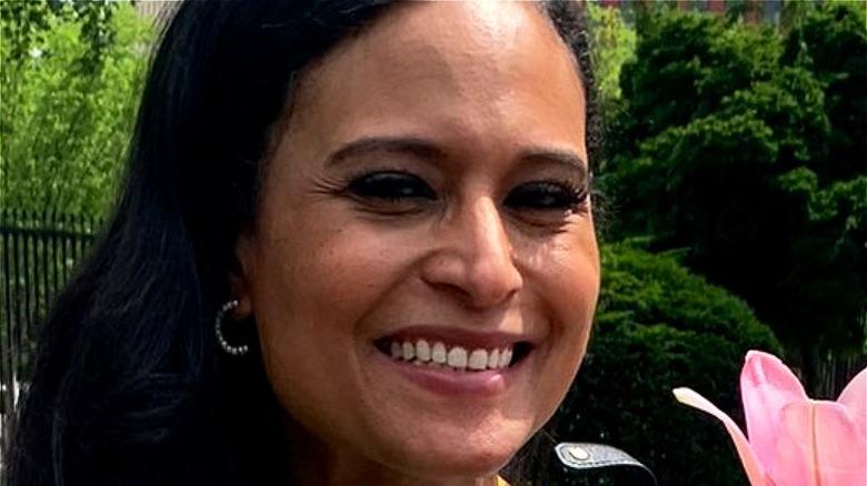 Kristen Welker smiling