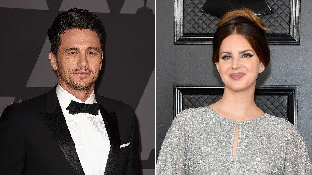 James Franco and Lana Del Rey