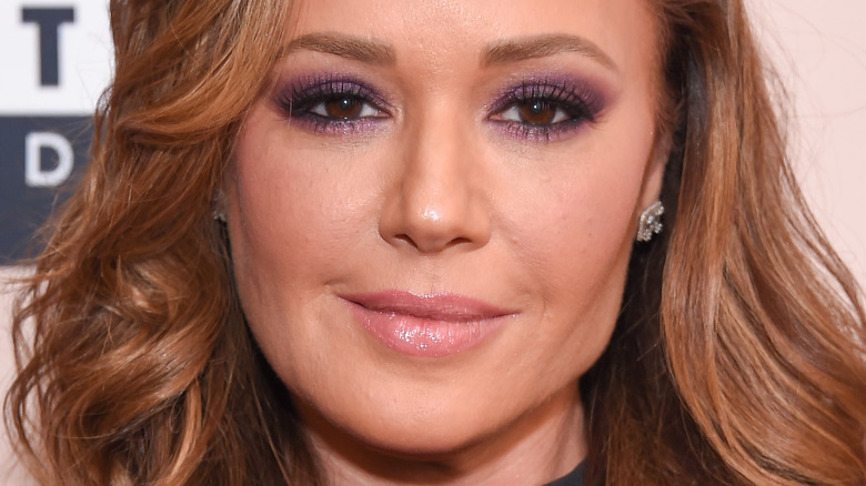 Leah Remini on the red carpet