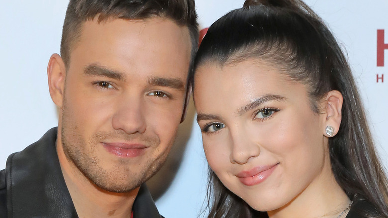 Liam Payne and Maya Henry on the red carpet