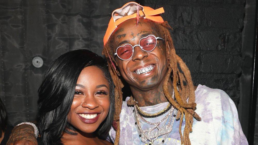 Reginae Carter and Lil' Wayne