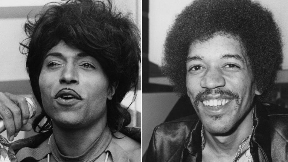Little Richard and Jimi Hendrix