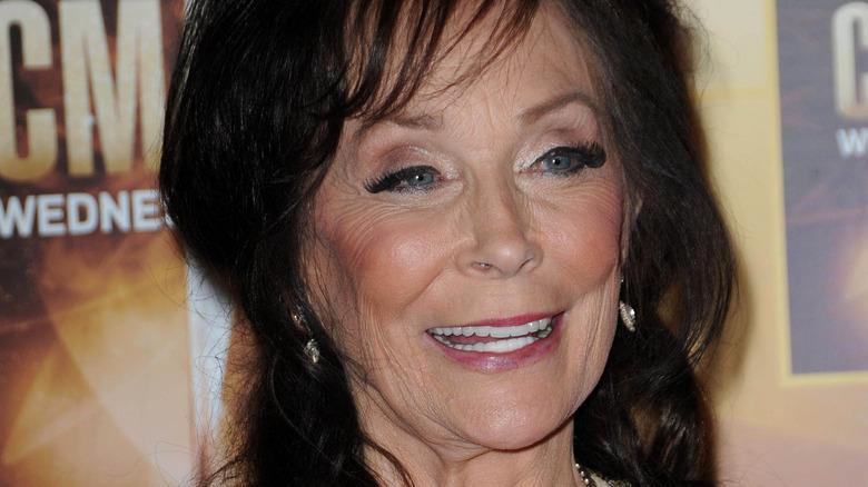 Loretta Lynn smiling at the CMAs