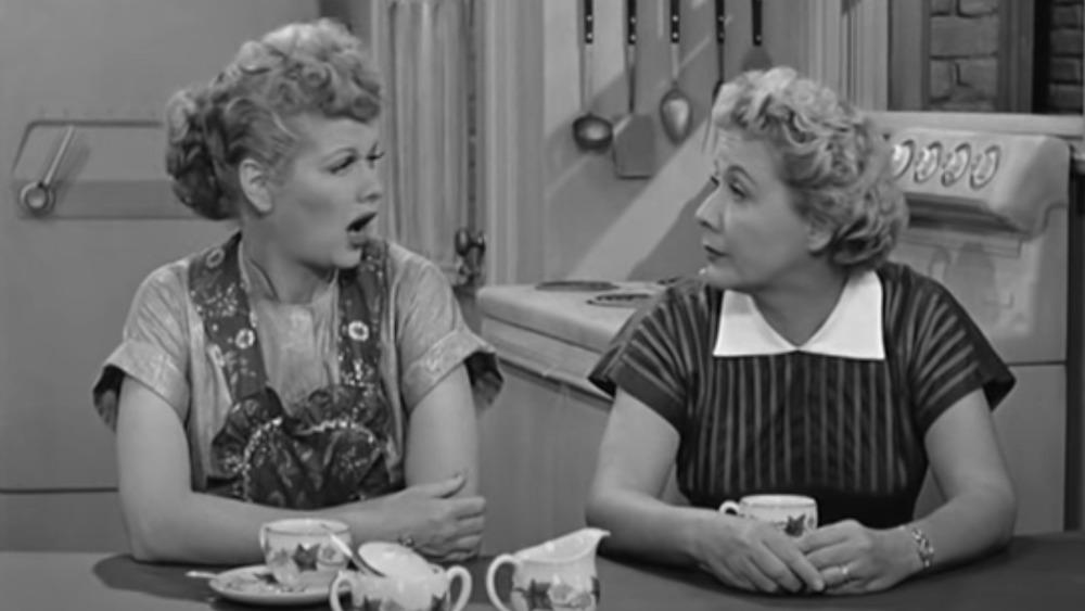 Lucille Ball and Vivian Vance