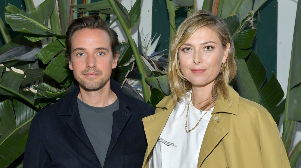 Maria Sharapova and boyfriend Alexander Gilkes