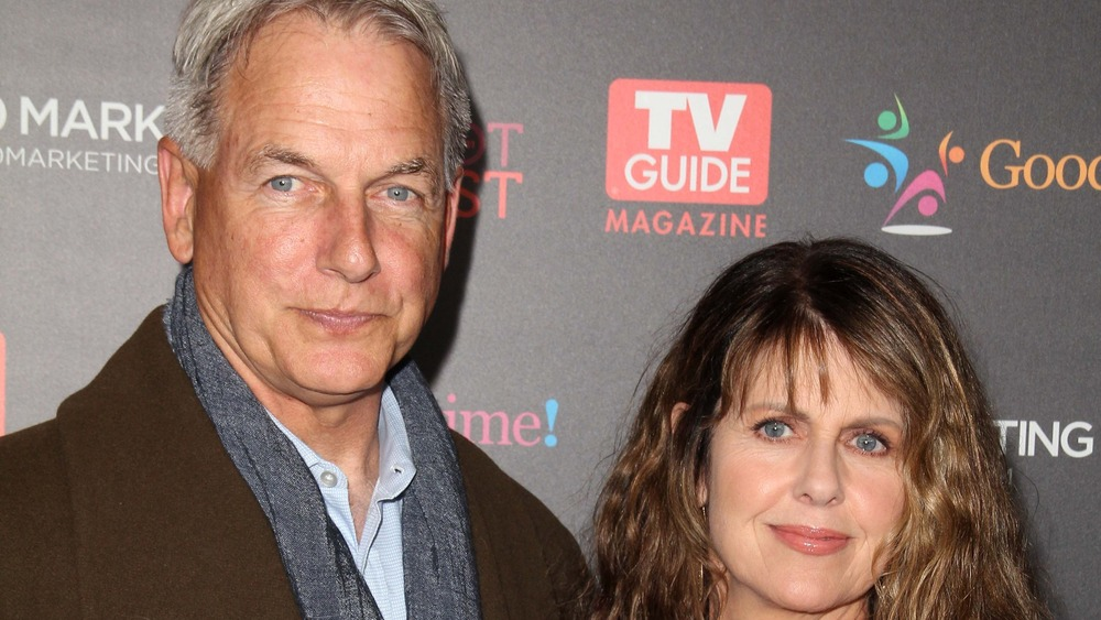Mark Harmon and Pam Dawber, TV Guide Magazine red carpet
