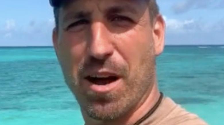 Matt Wright mouth open selfie