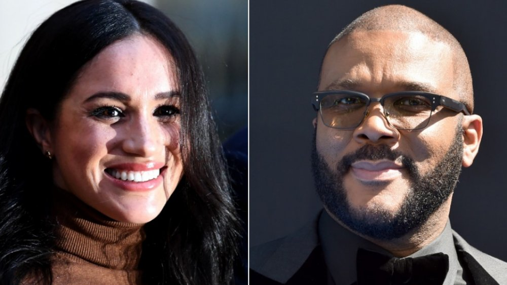 Meghan Markle and Tyler Perry