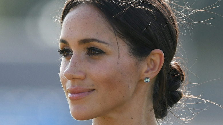 Meghan Markle out and about