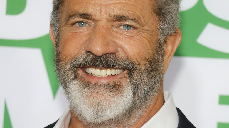Mel Gibson at the Los Angeles premiere 2017