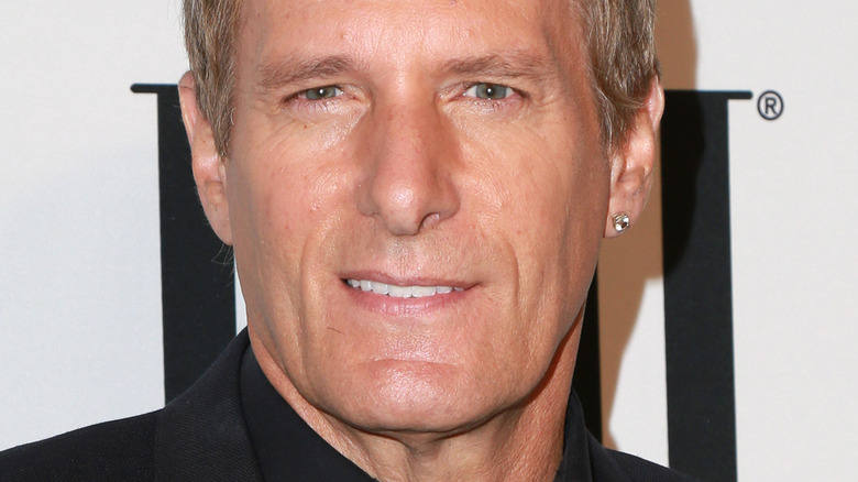 Michael Bolton on the red carpet