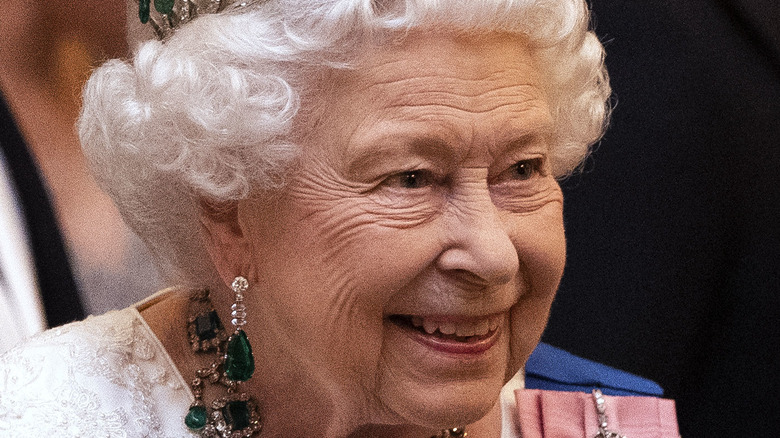 Queen Elizabeth, London, Dec 2019