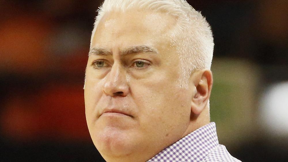 Wayne Tinkle coaching Oregon State