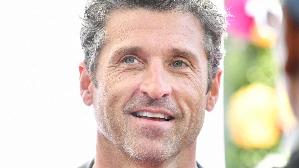 Patrick Dempsey smiling at an event