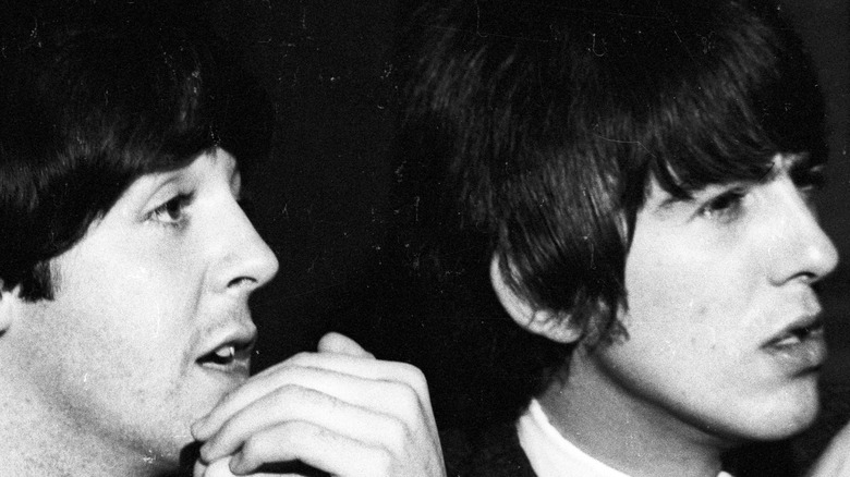 Young Paul and George