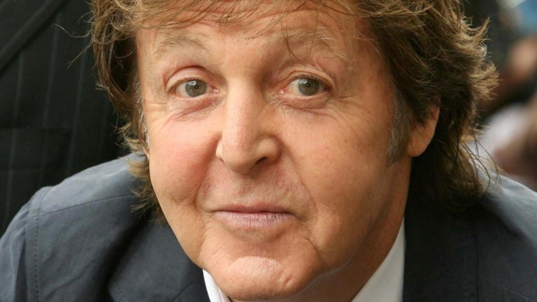 Sir Paul McCartney at Hollywood Walk of Fame 2009