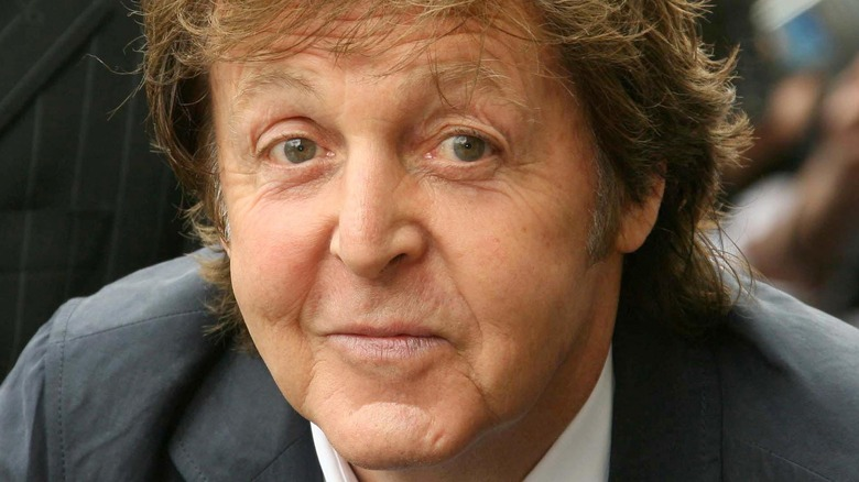 Paul McCartney honors George Harrison with a star on the Hollywood Walk of Fame 2009