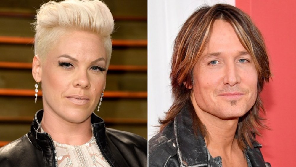 Pink and Keith Urban