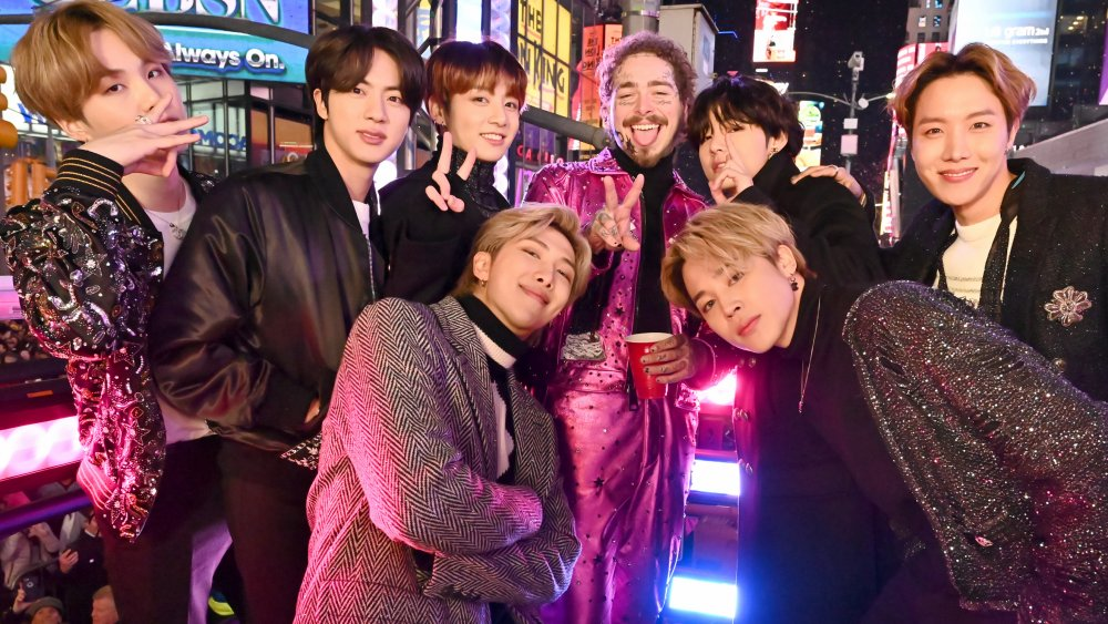 BTS and Post Malone