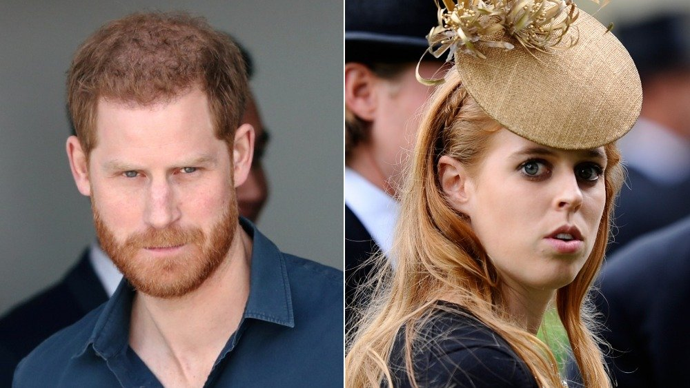 Prince Harry and Princess Beatrice