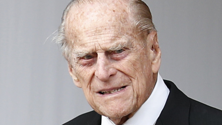 Prince Philip out and about