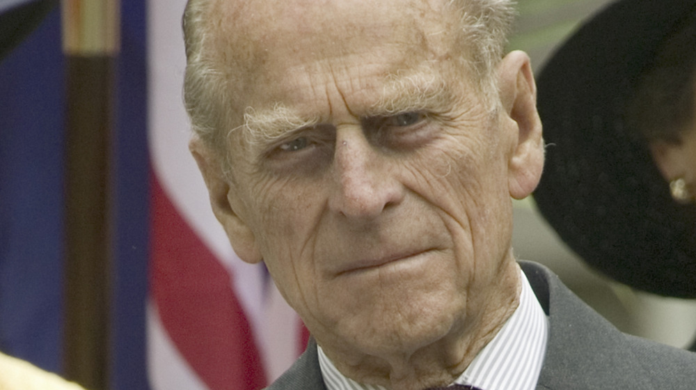 Prince Philip at an event