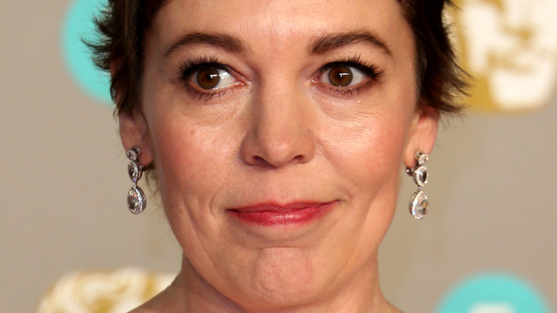 Olivia Colman at an event