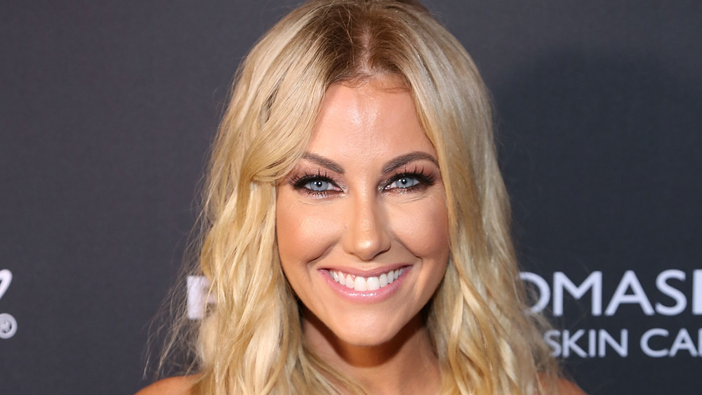 Stephanie Hollman smiling on the red carpet