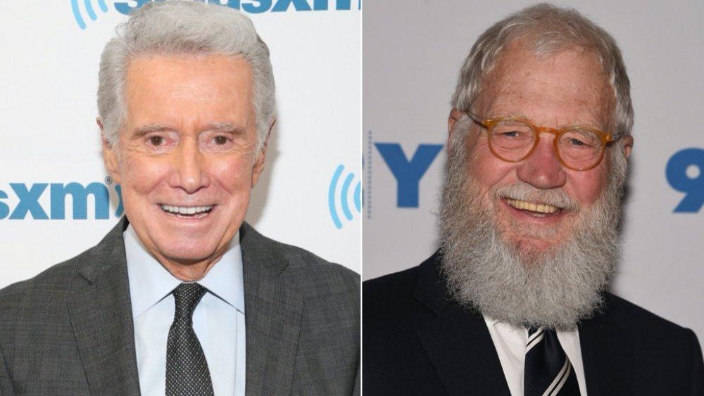 Regis Philbin; David Letterman