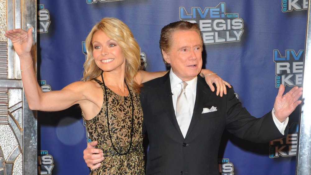 Regis Philbin and Kelly Ripa