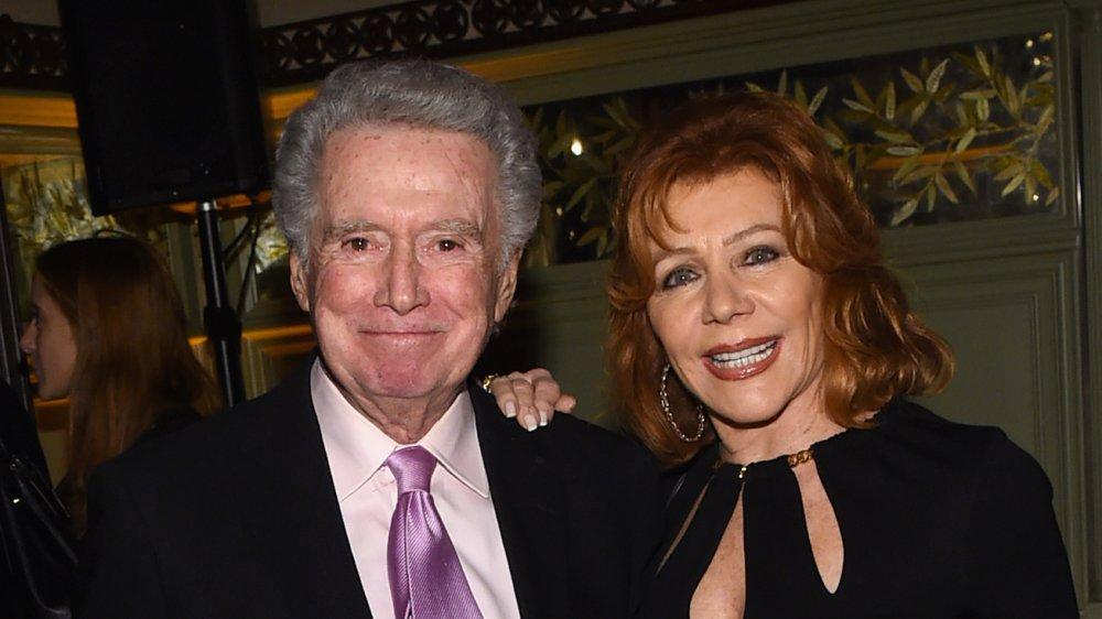 Regis Philbin and wife Joy Philbin