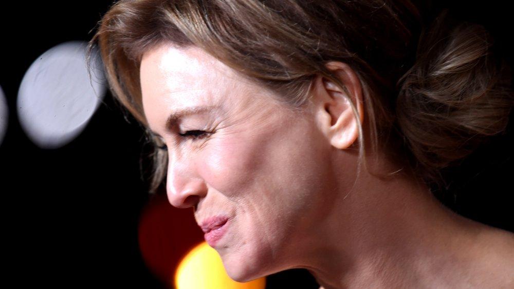 Renée Zellweger attends the 2020 BAFTAs