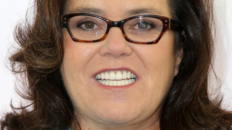 Rosie O'Donnell smiling