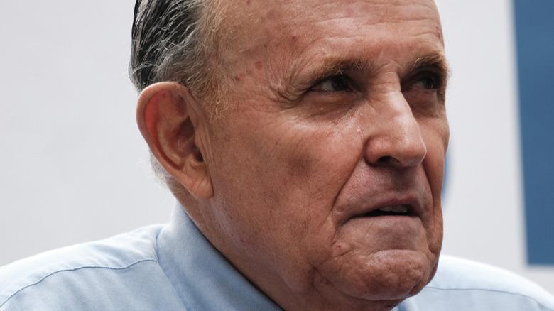 Rudy Giuliani in June 2021