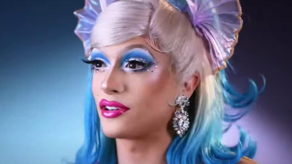 Denali Foxx talking on RuPaul's Drag Race