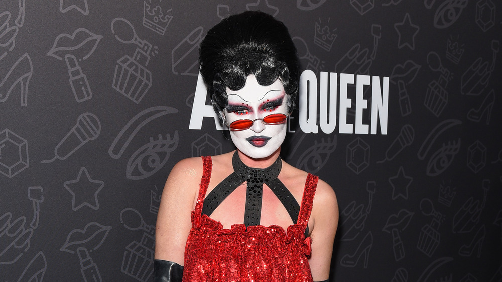 Gottmik in drag on the red carpet