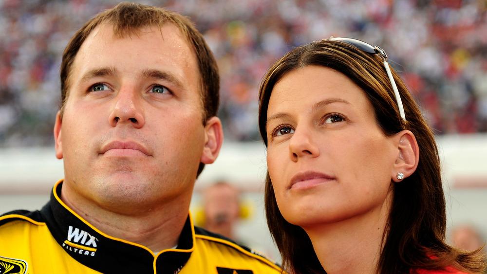 Ryan and Krissie Newman at NASCAR