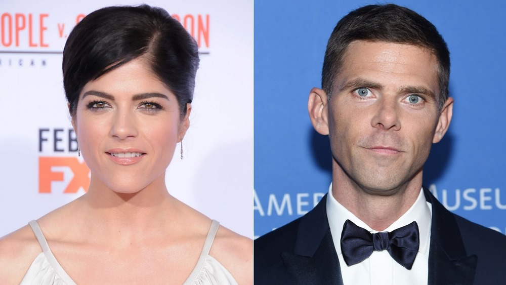 Selma Blair and Mikey Day on the red carpet