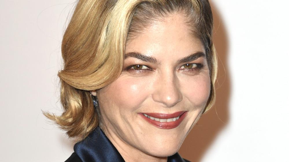 Selma Blair red carpet