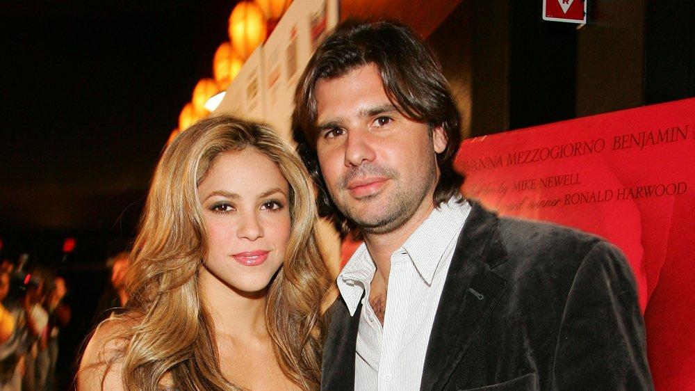 Shakira and ex-boyfriend Antonio de la Rúa