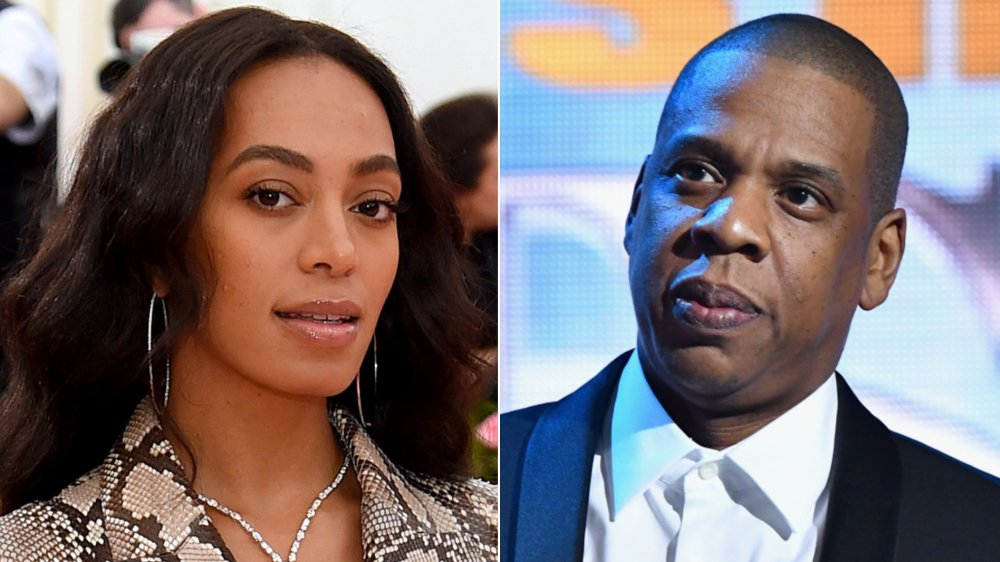 Solange and Jay-Z