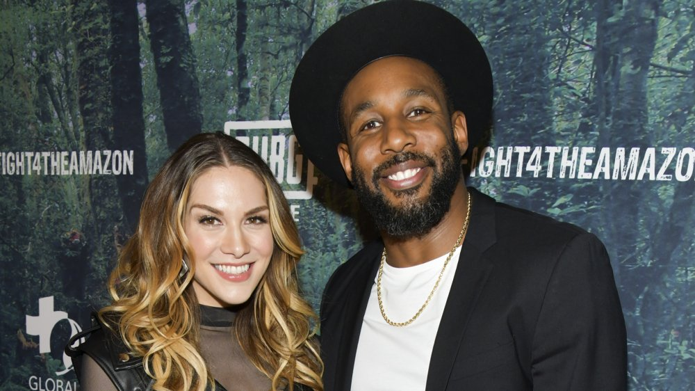 Allison Holker and Stephen tWitch Boss