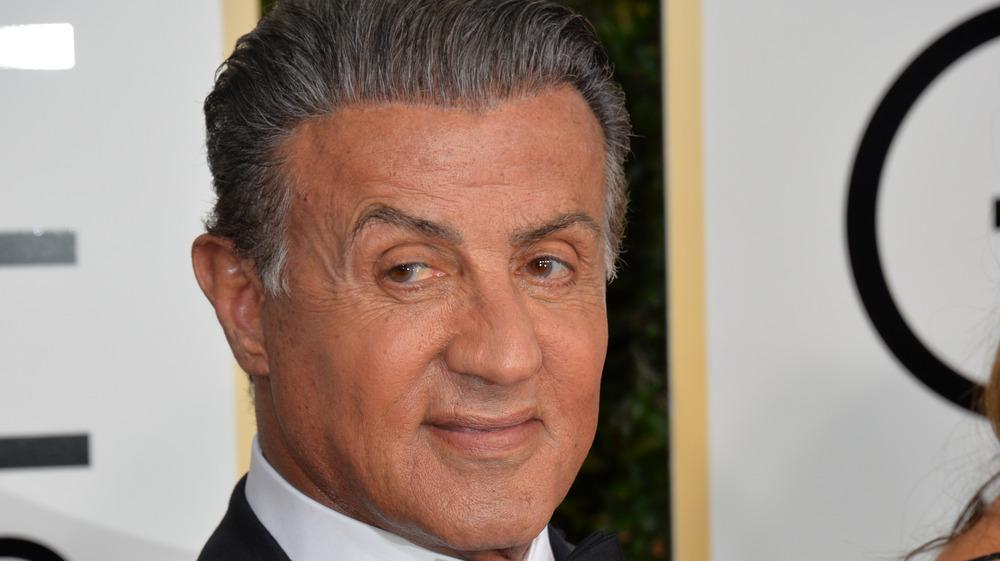 Sylvester Stallone attends Golden Globes